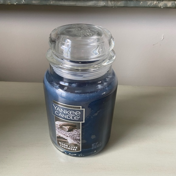 Yankee candles warm luxe cashmere candle 22 ounce